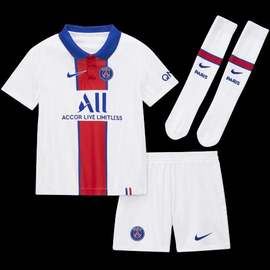 Nike Paris Saint Germain Away Football Kit 20 21 Younger Kids Solly M Sports Online Store